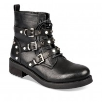 Bottines plates NOIR MyB