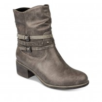 Bottines à talon GRIS MERRY SCOTT