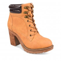 Bottines à talon JAUNE MyB