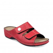 Mules ROUGE GREEN RELAX