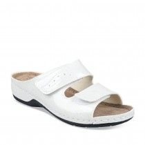 Mules BLANC GREEN RELAX