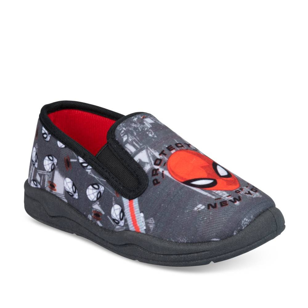 Chaussons GRIS SPIDERMAN
