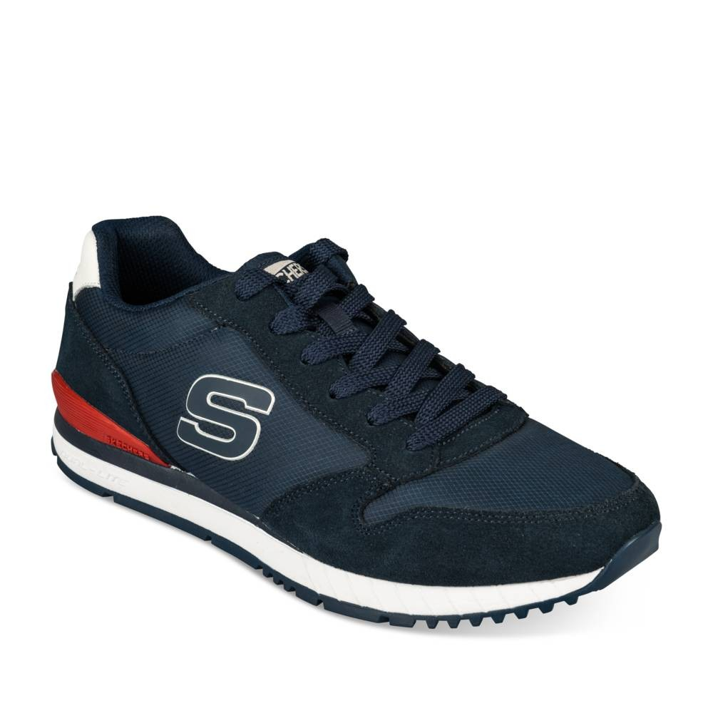 Hoge sneakers NAVY SKECHERS