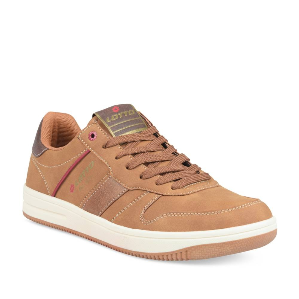 Hoge sneakers COGNACKLEUR LOTTO