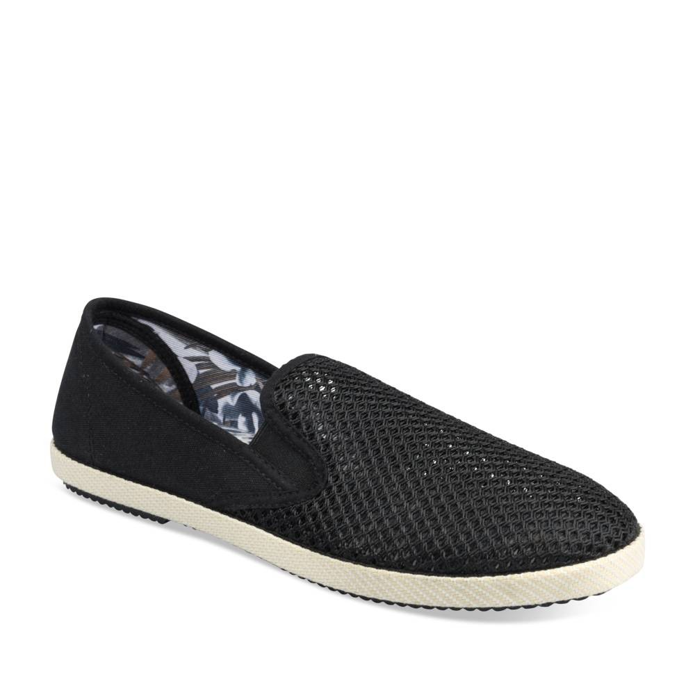 Espadrilles ZWART DENIM SIDE