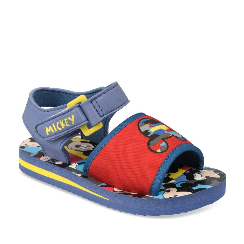 Teenslippers BLAUW MICKEY