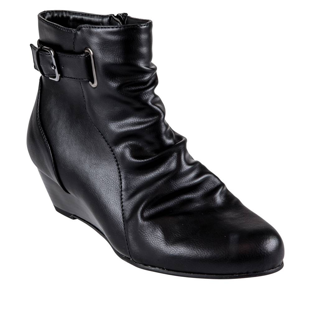 fee136f6733 Ankle boots BLACK VIA DONNA