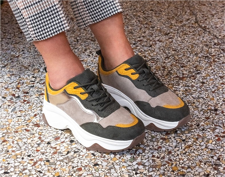 Sneakers Dame Chaussea